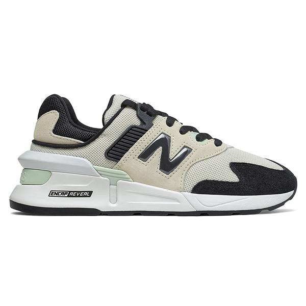 New Balance 997 女鞋 休閒 復古 ABZORB ENCAP REVEAL 米白 黑【運動世界】WS997JKW