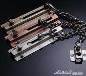 304不銹鋼防盜大門加厚門扣安全鍊門栓防盜鍊條   蜜拉貝爾