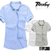 『潮段班』【SD032211】滿版格紋立領短袖襯衫上衣