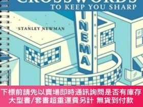 二手書博民逛書店Movie罕見Mania Crosswords to Keep You Sharp (AARP Books Ser