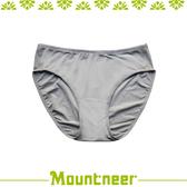 【Mountneer 山林 女 透氣三角內褲《淺灰色》】11K80-08/透氣內褲/排汗內褲/三角褲★滿額送