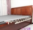 老人床圍欄兒童防摔床上擋板嬰兒防掉大床欄桿通用可折疊床邊護欄品牌【公主日記】
