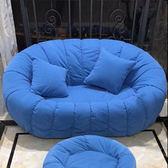 服裝店女小型三人位臥室網紅款小戶型懶人迷你簡易租房雙人小沙發 WD 一米陽光
