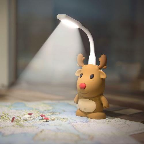 Bone 公仔 行動電源 6700 LED 燈組 麋鹿
