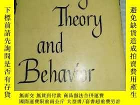 二手書博民逛書店英文原版書-----《Learning罕見Theory and Behavior:學習理論與行為》!(1961年,