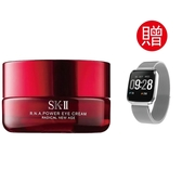 SKII R.N.A. 超肌能緊緻大眼霜15g 送西歐科技智慧健康管理手錶CME-X8-H80
