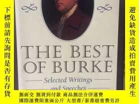 二手書博民逛書店The罕見best of Burke selected writ