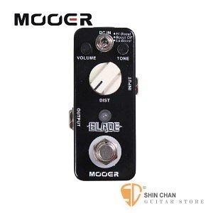 Mooer Blade 重金屬破音效果器【Metal Distortion Pedal】【Micro系列BL】