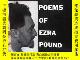 二手書博民逛書店Selected罕見poems of Ezra Pound -- 《龐德詩選》Y171339 Ezra Pou