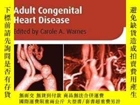 二手書博民逛書店Adult罕見Congenital Heart Disease