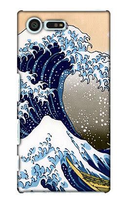 Sony Xperia X Compact F5121 F5122 F8332 F5321 手機殼 硬殼 浮世繪 海浪