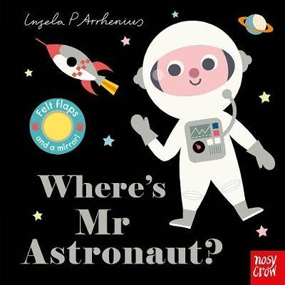Where's Mr Astronaut? 太空人在哪裡?不織布翻翻書
