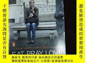 二手書博民逛書店Eat,罕見Pray, Love. Movie Tie-In:O