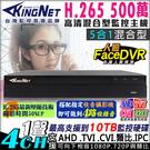 監視器 KingNet 4路監控主機 5...