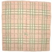 【波克貓哈日網】Burberry方巾毛巾  ◇ 粉紅格紋 ◇ 《 34x33 cm 》 西川Burberry洗臉方毛巾