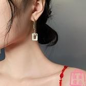 不對稱耳環女韓國氣質網美耳飾潮耳釘925純銀銀針【匯美優品】
