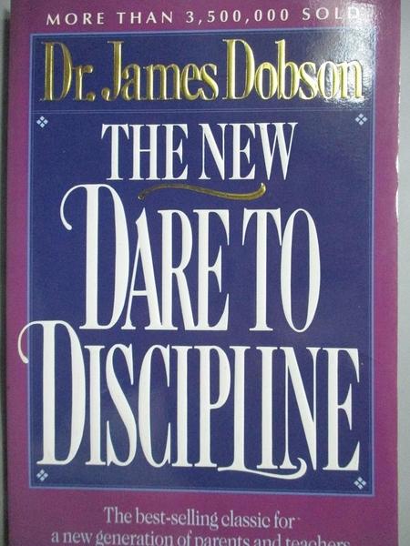 【書寶二手書T2/宗教_MAK】The New Dare to Discipline_Dobson, James C.