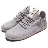 adidas 休閒鞋 PW Tennis HU Pharrell Williams 灰 米白 聯名款 運動鞋 男鞋【PUMP306】 AC8698