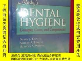 二手書博民逛書店Mosby s罕見Dental Hygiene: Concept