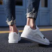 【降價兩天】小白鞋男春季新款布鞋男士運動板鞋休閒鞋軟底韓版潮流帆布鞋