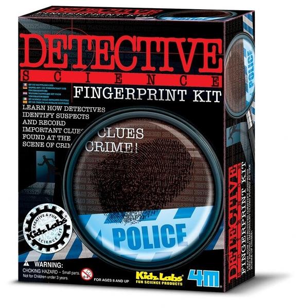 指紋密碼戰 Fingerprint Kit 來採集鑑識指紋吧