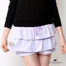 棉質雙層蛋糕褲裙 Scottish House【AA1265】