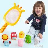 兒童洗澡玩具戲水車男孩女孩小黃鴨洗頭杯花灑寶寶灑水壺套裝沙灘 金曼麗莎