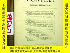 二手書博民逛書店SCIENTIFIC罕見MONTHLY 科學月刊1933年7月