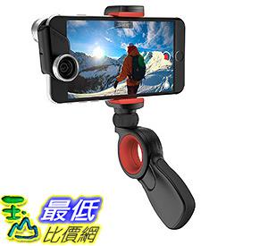 [106 美國直購] olloclip PIVOT: Black/Red 攝影支架 適用4-5.5吋手機 for iphone 7 plus