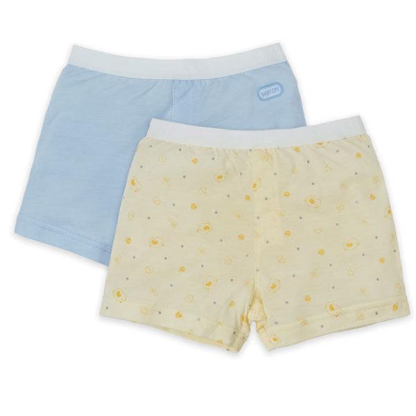 Baby City 雞寶寶天絲男童內褲2入 (90-130)