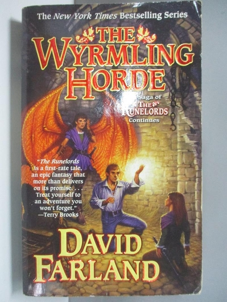 【書寶二手書T8/原文小說_AK9】The Wyrmling Horde_Farland, David