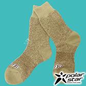 【PolarStar】羊毛保暖雪襪『卡其』P17610 露營.戶外.登山.保暖襪.彈性襪.紳士襪.休閒襪