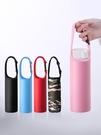 保温杯套 保溫杯套保護套水杯套通用杯子套手提隔熱防摔杯袋玻璃350-500ml
