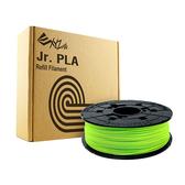 XYZprinting da Vinci Jr.專用PLA線材匣600g螢光綠【愛買】