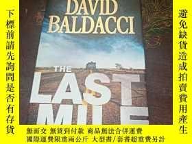 二手書博民逛書店DAVID罕見BALDACCI THE LAST MILE(精裝