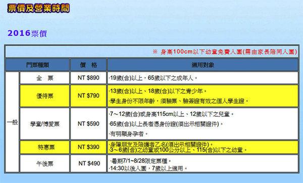 【花蓮】海洋公園 - 全票 (一票到底) (107年5月前) 憑本門票、現場加贈100元、現金抵用券