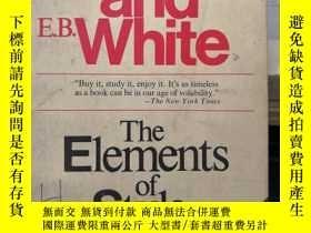 二手書博民逛書店strunk罕見and white the elements o
