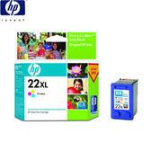 HP NO.22XL/C9352CA 原廠彩色高容量墨水匣