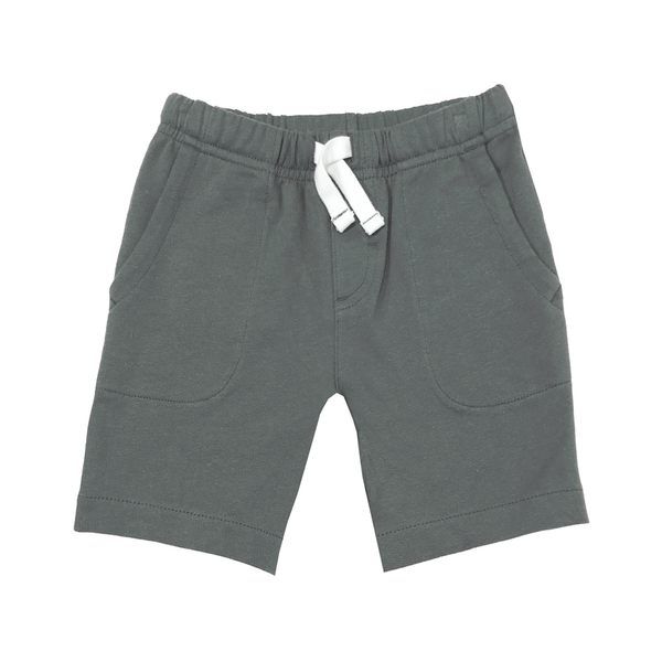 Carter s卡特 純棉鬆緊腰居家短褲 深灰 | 男寶寶 | 北投之家童裝【CA224G590】