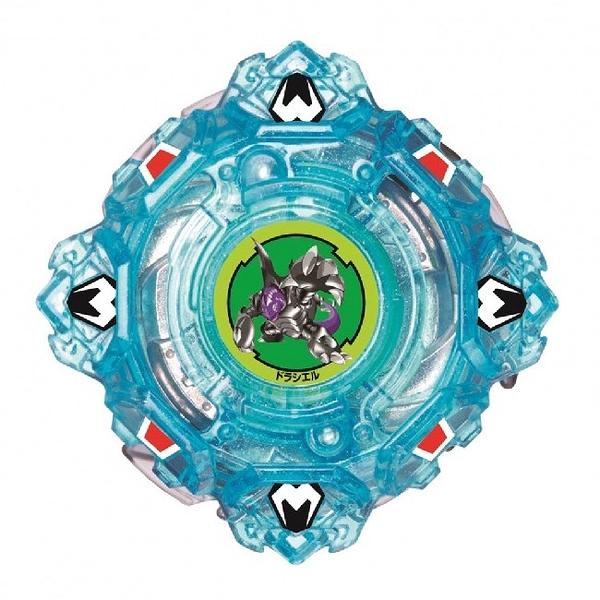 戰鬥陀螺BURST#87-5四聖獸藍 堅甲戰龜 4F.CY確定版 強化組 原廠公司貨  爆烈世代 TAKARA TOMY