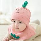 嬰兒帽子女寶寶帽子春秋季新生兒帽子男童帽可愛嬰幼兒護耳套頭帽