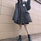 工裝外套 棉襖年韓版寬鬆中長款工裝冬裝襖子棉衣棉服冬季外套女冬【全館免運】