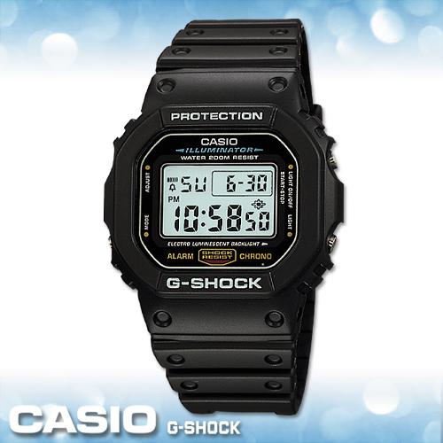 CASIO手錶專賣店 卡西歐  G-SHOCK DW-5600E -1V   數字電子錶 頭文字D 礦物 橡膠錶帶