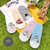 韓國襪子 雙色嚕嚕米卡通圖案隱形襪❤️正韓貨 長襪 短襪 韓妞必備 姊妹情侶  阿華有事嗎