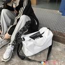 旅行包 旅行包包女短途出差旅游包游泳健身包獨立鞋位男女學生行李包潮包 愛丫 新品