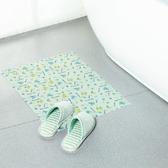 ◄ 生活家精品 ►【N339】居家自黏防滑吸水地墊 衛浴 免膠 無紡布 PVC 清新 印花 圖案 安全