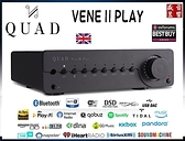 英國 Quad Vena II Play 無線串流綜合擴大機 / 灰黑色