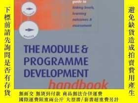 二手書博民逛書店The罕見Module And Programme Development Handbook: A Practic
