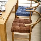 加厚坐墊辦公室久坐地毯上椅子軟墊子學生教室椅墊屁股圓形座墊-完美