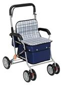 【TacaoF】標準型助步車R131-條紋黑(型號:KSIST02-CB)